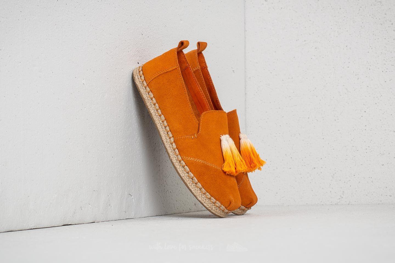 TOMS Wmn Deconstructed Alpargata Rope Saffron Suede/ Tassel za skvělou cenu 1 090 Kč koupíte na Footshop.cz