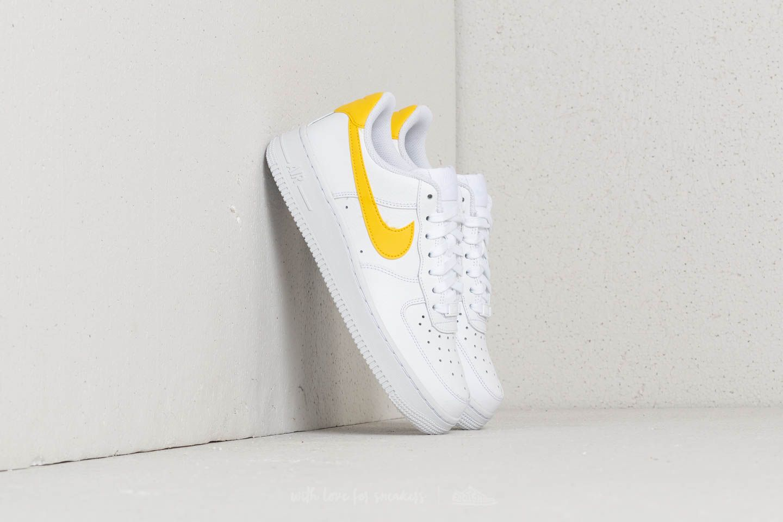 Women S Shoes Nike Wmns Air Force 1 07 White Vivid Sulfur White Footshop Кроссовки nike air force 1 betrue. nike wmns air force 1 07 white vivid sulfur white footshop
