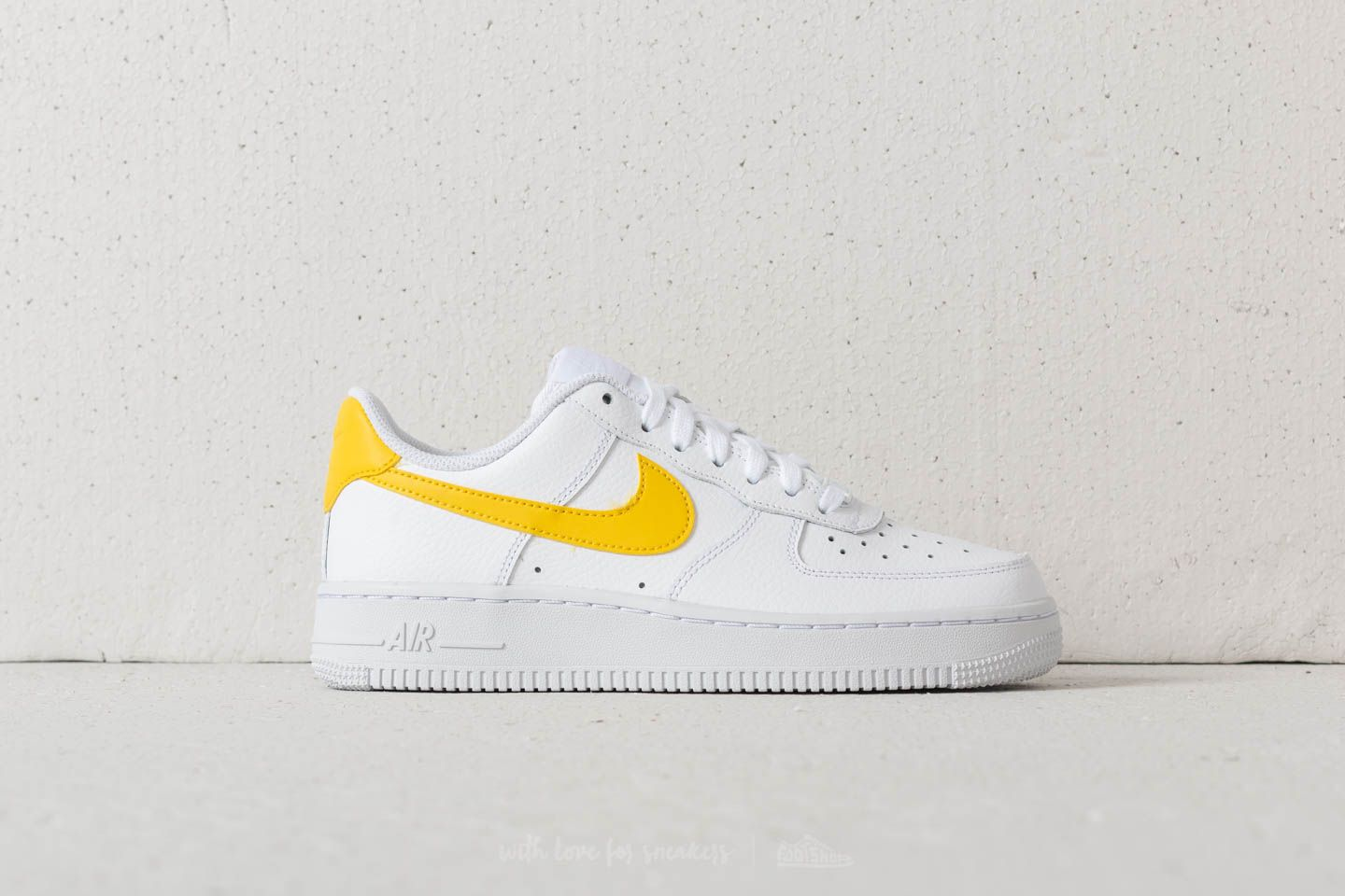 Nike Wmns Air Force 1 '07 White Vivid Sulfur White | Footshop