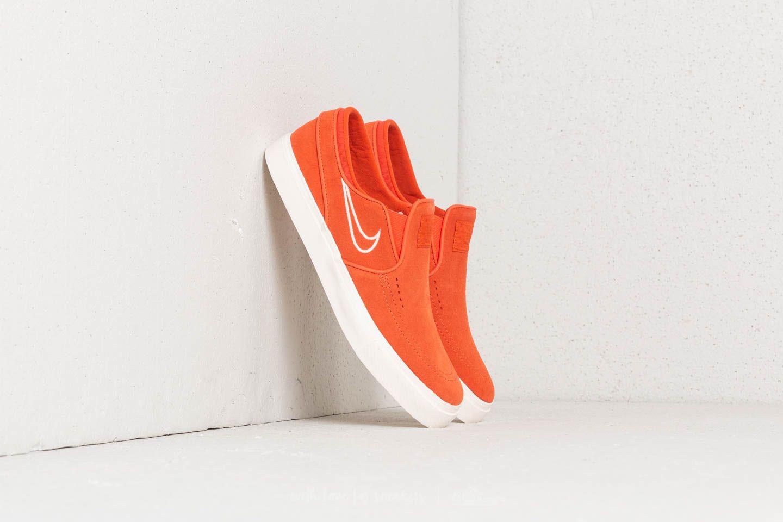 janoski slip on orange