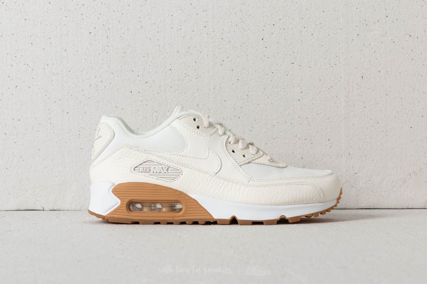 meet 0784f 660d2 Nike Air Max 90 Premium WMNS Sail  Sail-Gum Light Brown at a great