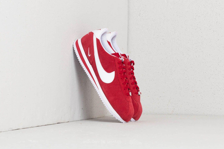 Nike Cortez Basic SE Gym Red  White  5b7b49138