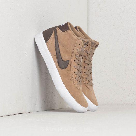 2781e313350e Nike SB Bruin Hi WMNS Khaki  Ridgerock-White