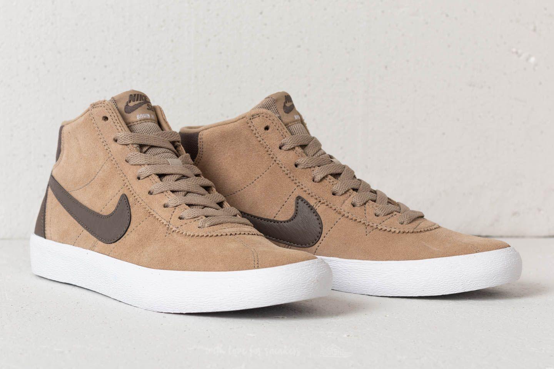 e8292e0126f9 Nike SB Bruin Hi WMNS Khaki  Ridgerock-White at a great price £76