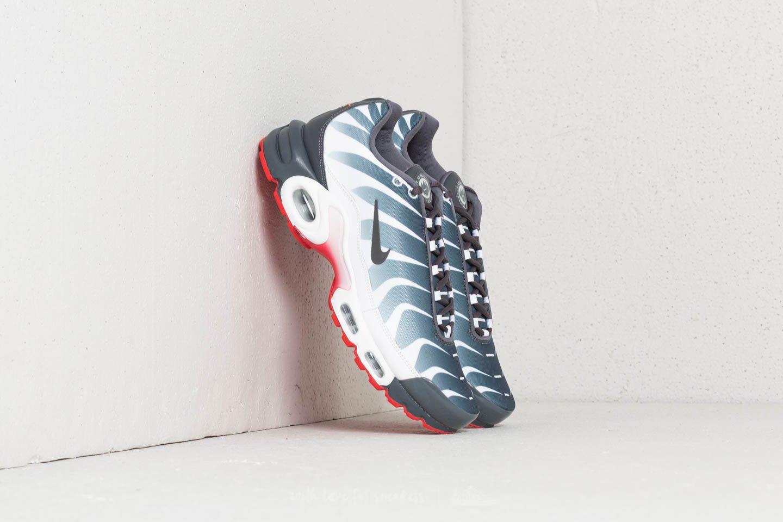 Nike Air Max Plus TN SE White Dark Grey Speed Red | Footshop