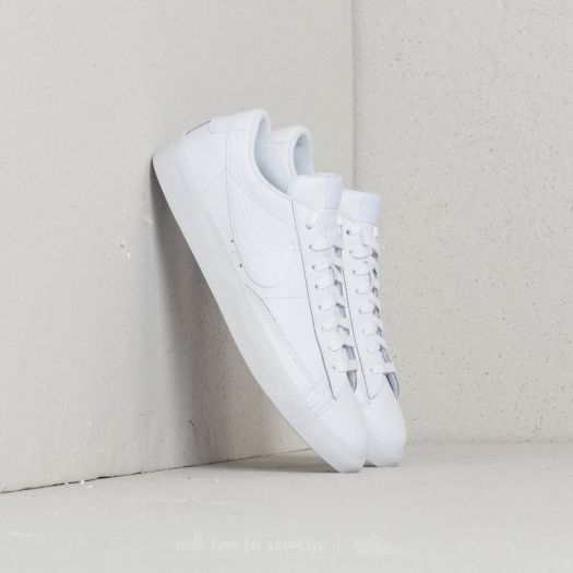 Nike Blazer Low Leather White  White-White  68bbd91be347
