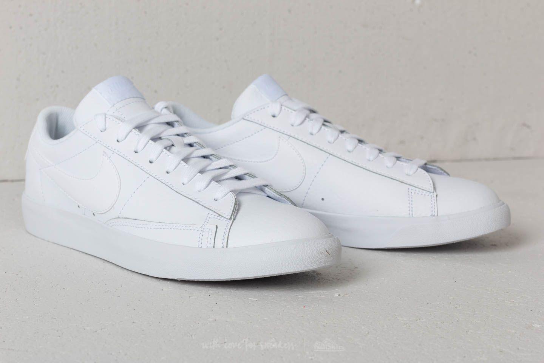 size 40 8fcd6 0d89c Nike Blazer Low Leather White/ White-White | Footshop