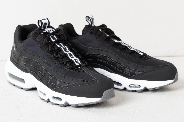 Nike Air Max 95 SE Black Black White Cool Grey | Footshop