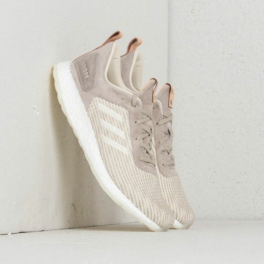 adidas Consortium x Solebox Pureboost DRP Lime Green/ Grey Two/ White EUR 42