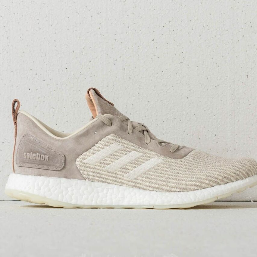 adidas Consortium x Solebox Pureboost DRP Lime Green/ Grey Two/ White, Brown