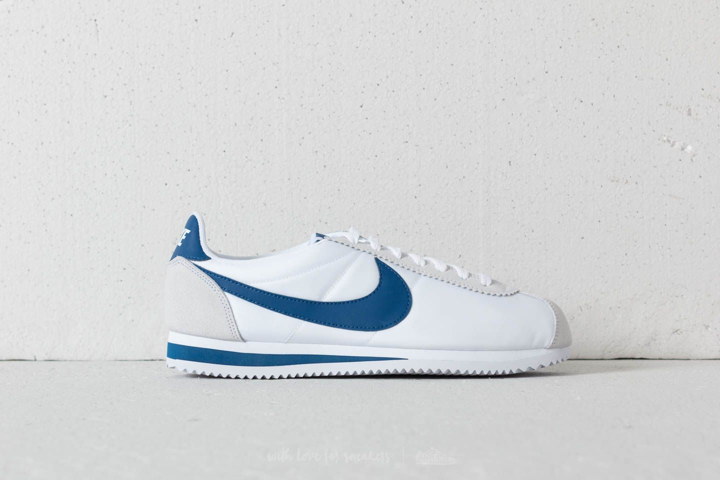 f6594a7ce6f Nike Classic Cortez Nylon White  Gym Blue at a great price £70 buy at