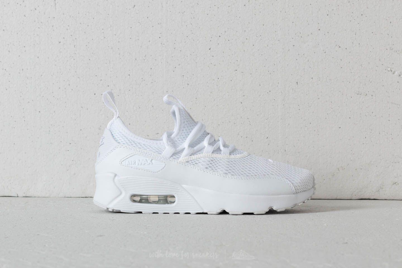 size 40 ef4cd 1218e Nike Air Max 90 EZ (GS) White  White-White at a great