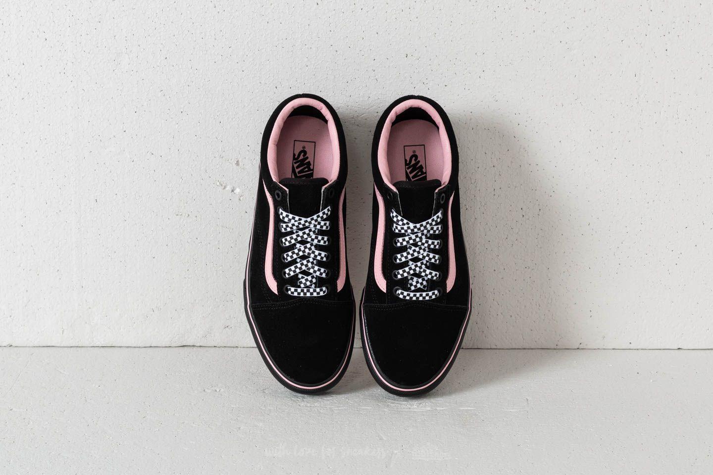 Vans Old Skool Platform (Lazy Oaf) Black Black | Footshop