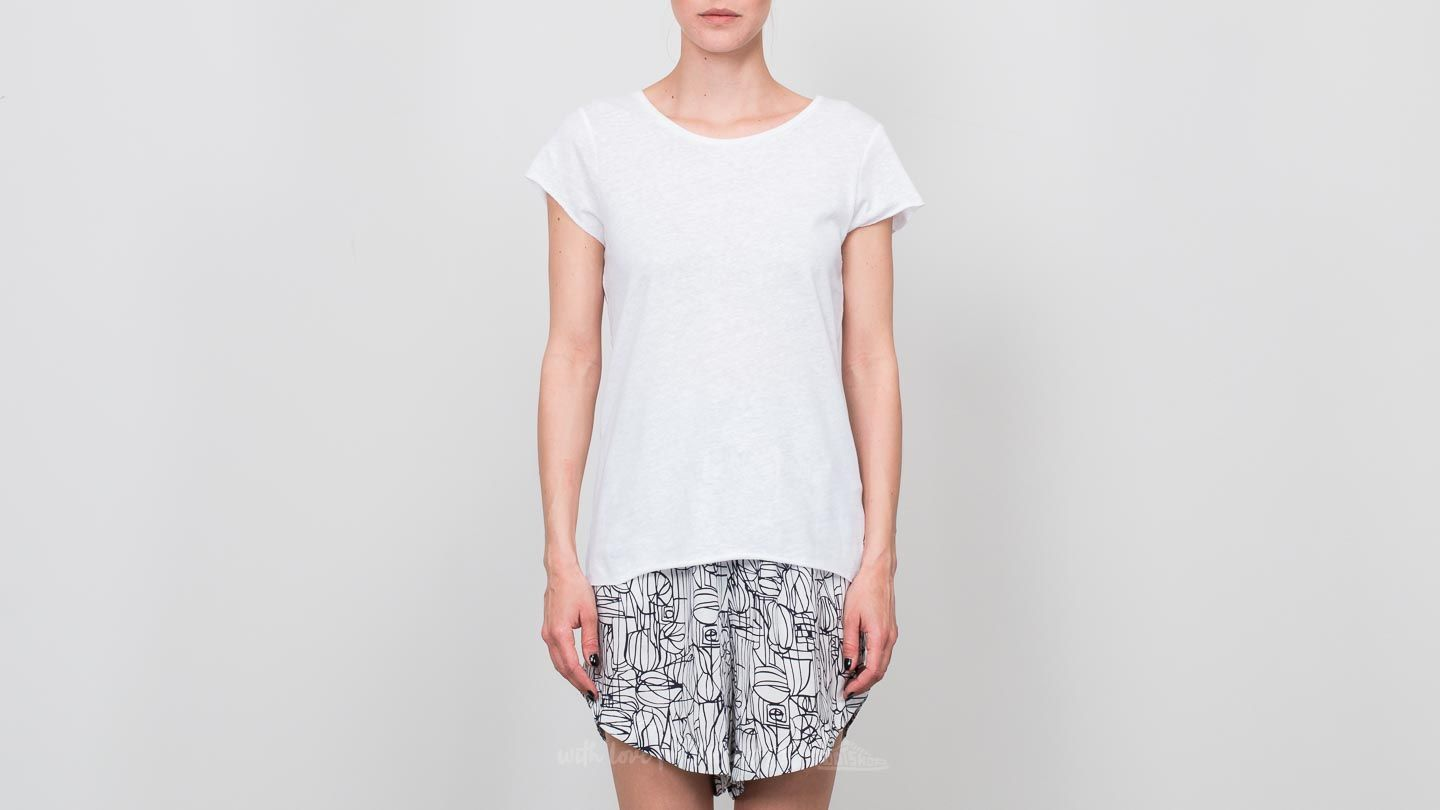 SELECTED Capsleeve Tee Bright White