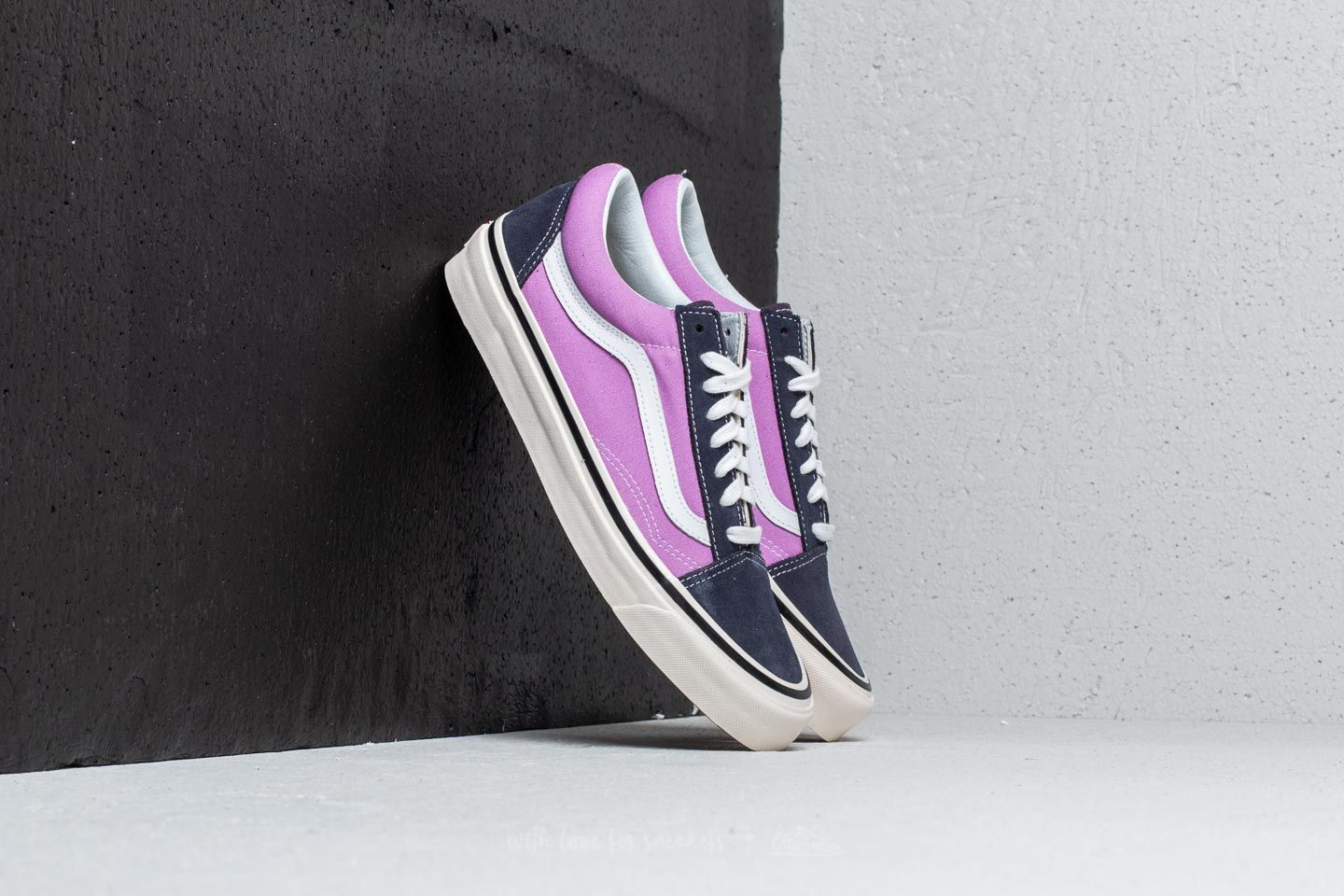 7e16dac2384394 Vans Old Skool 36 DX (Anaheim Factory) OG Navy