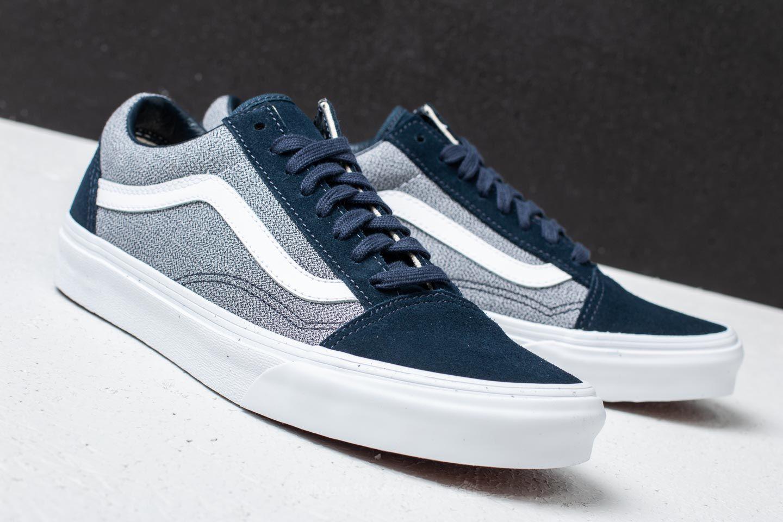 Vans Old Skool (Suiting) Blueberry True White | Footshop