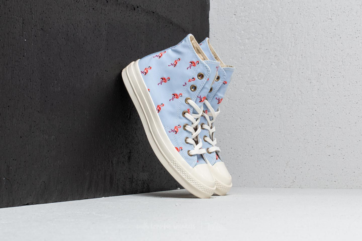 372042cc2382 Converse Chuck Taylor All Star 70 Hi Blue Chill  Pale Coral  Egret ...
