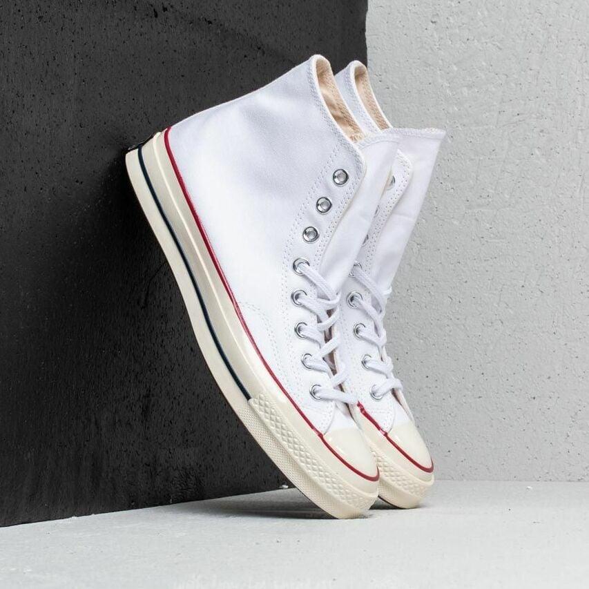 Converse Chuck Taylor All Star 70 Hi White/ Garnet/ Egret EUR 42.5
