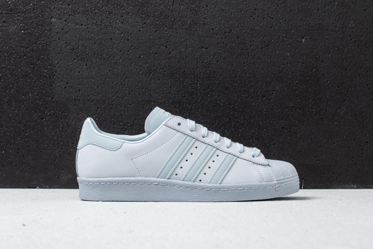 buy popular 64573 61d8d adidas Superstar 80s Aero Blue/Aero Blue/Aero Blue | Footshop
