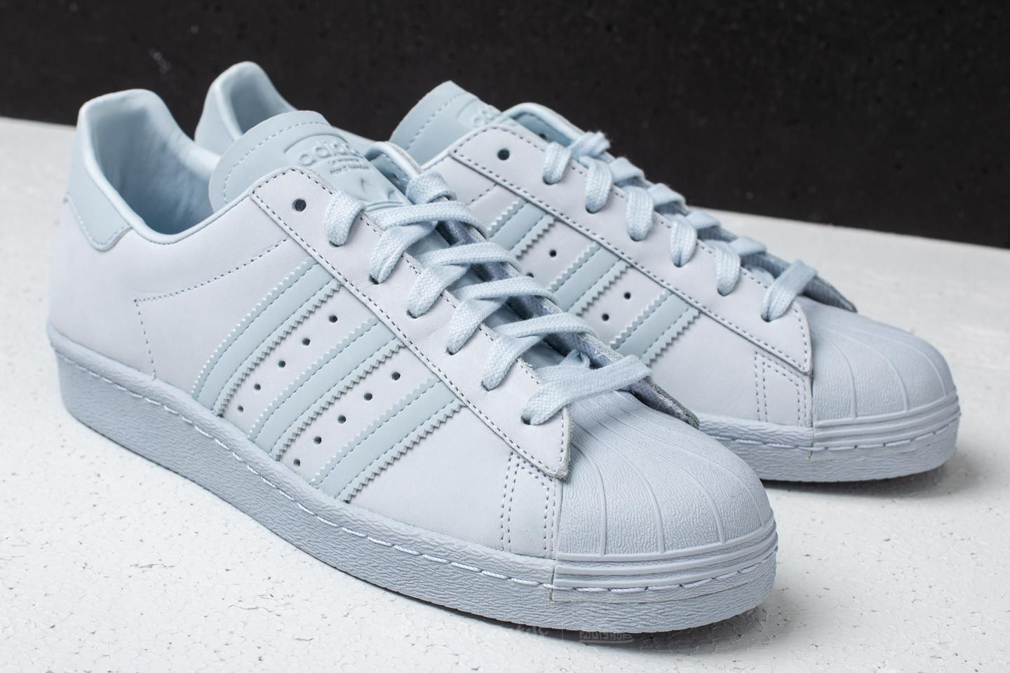 buy popular 4a2e9 96e9f adidas Superstar 80s Aero Blue/Aero Blue/Aero Blue | Footshop