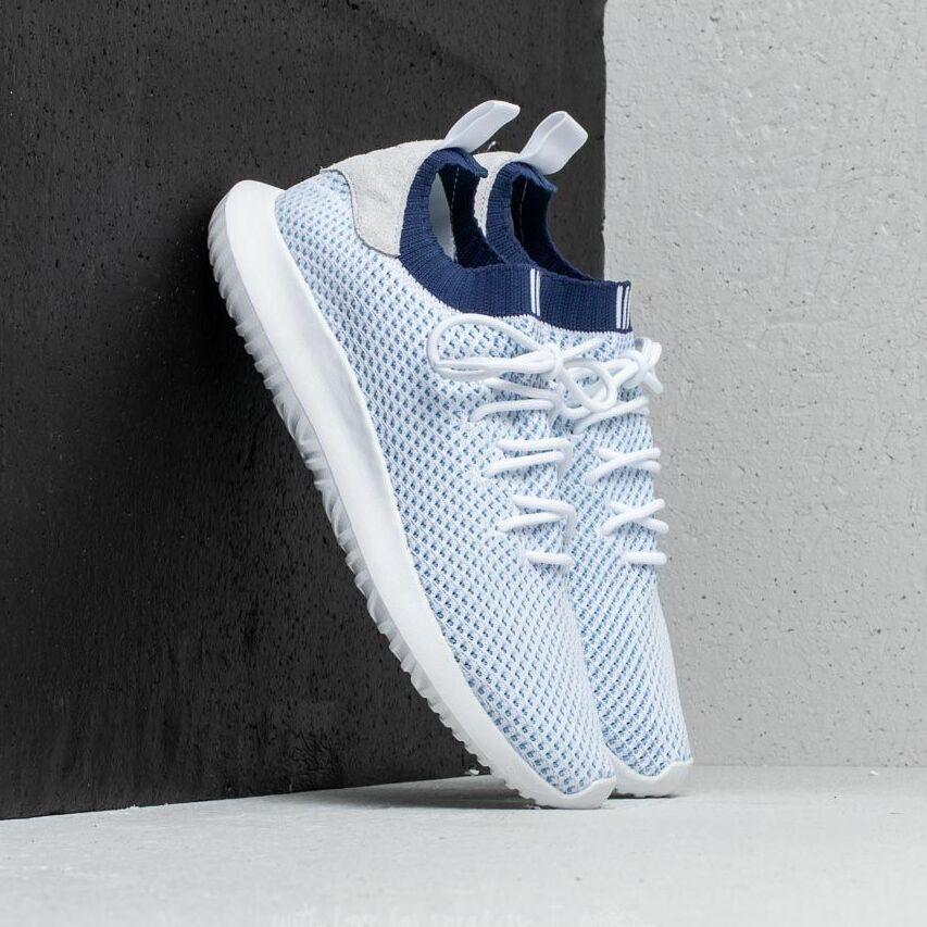 adidas Tubular Shadow Primeknit Ftw White/ Ftw White/ Noble Indigo EUR 46