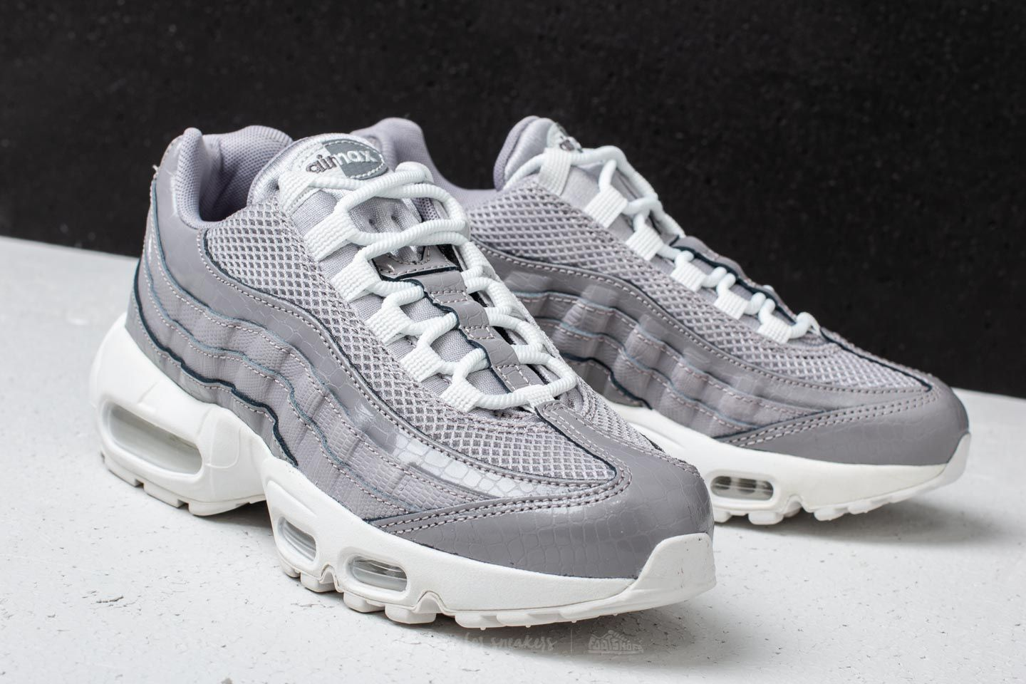 hot sales 68460 0ebc0 Nike Wmns Air Max 95 Premium Atmosphere Grey | Footshop