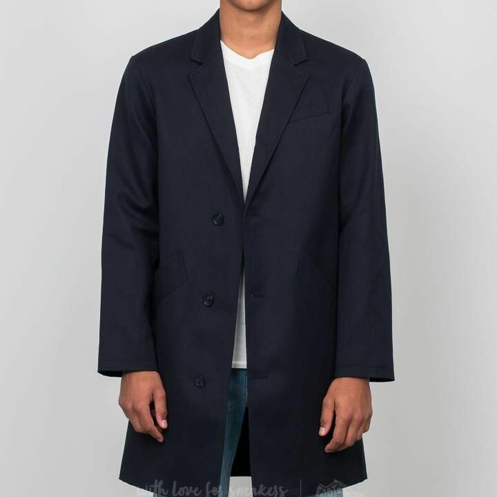 A.P.C. Basile Coat Dark Navy, Blue