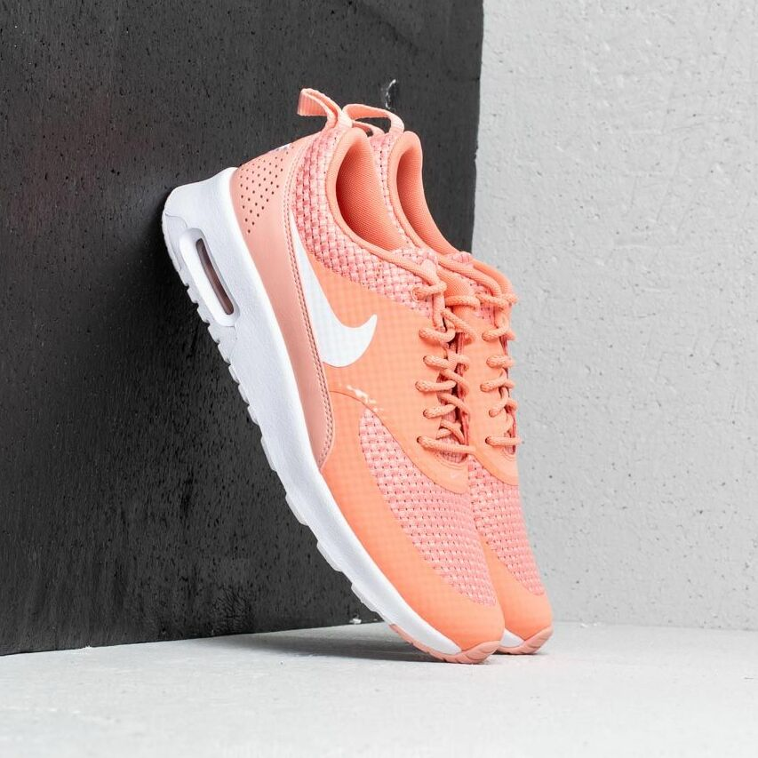 Nike Wmns Air Max Thea Premium Crimson Bliss/ White EUR 38