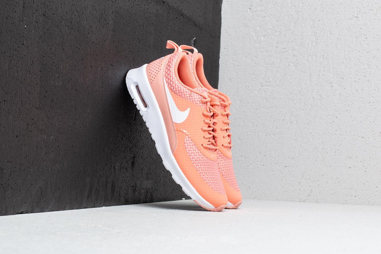 Nike Wmns Air Max Thea Premium Crimson Bliss/ White a muy buen precio 74 € comprar en Footshop