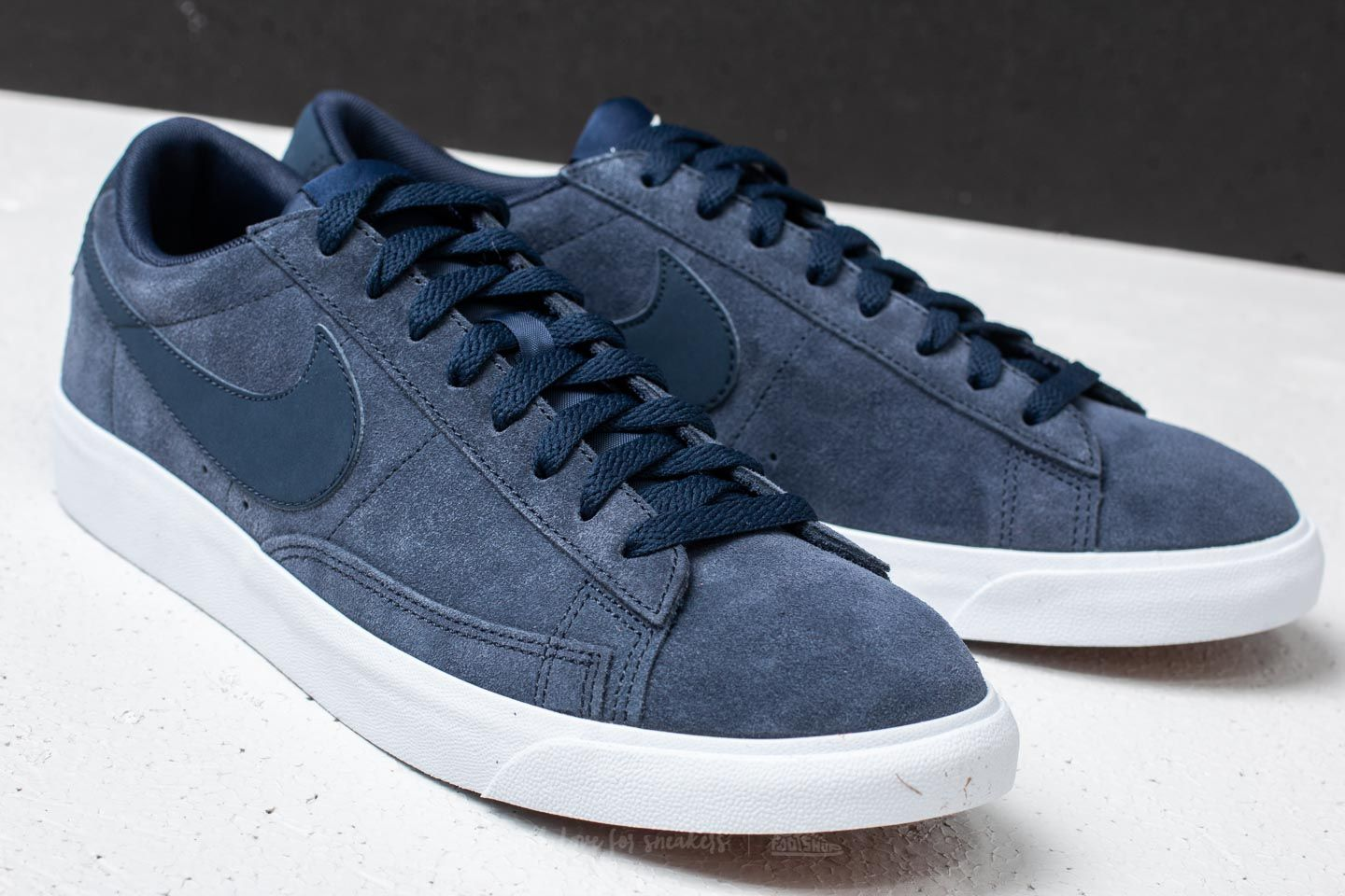 Nike Blazer Low Suede Obsidian  Obsidian-Sail at a great price 62 € buy b9de39920e