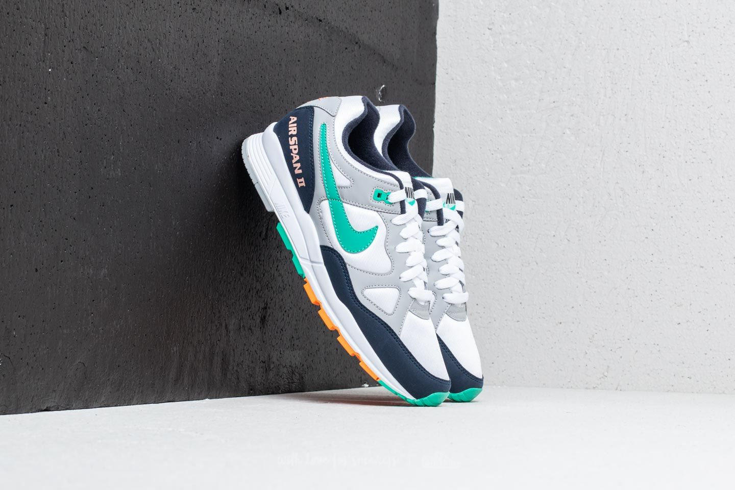 Nike Air Span II Wolf Grey  Kinetic Green at a great price 99 € buy 78e4972c6c7