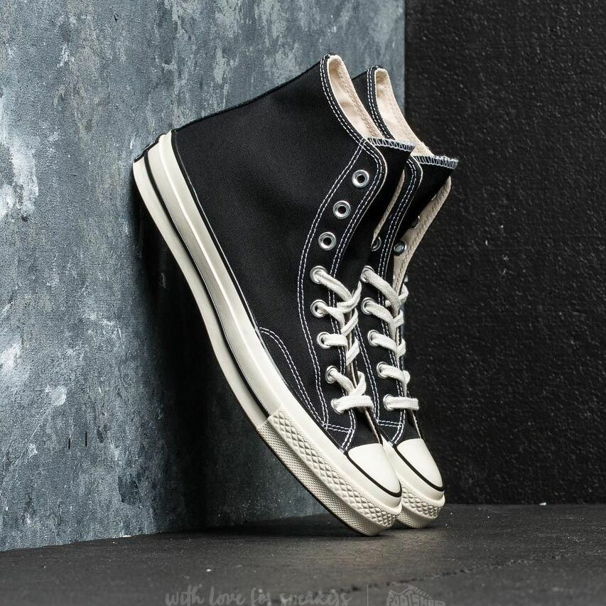 CONVERSE CHUCK TAYLOR ALL STAR 70 HI Black/ Black/ Egret EUR 44.5