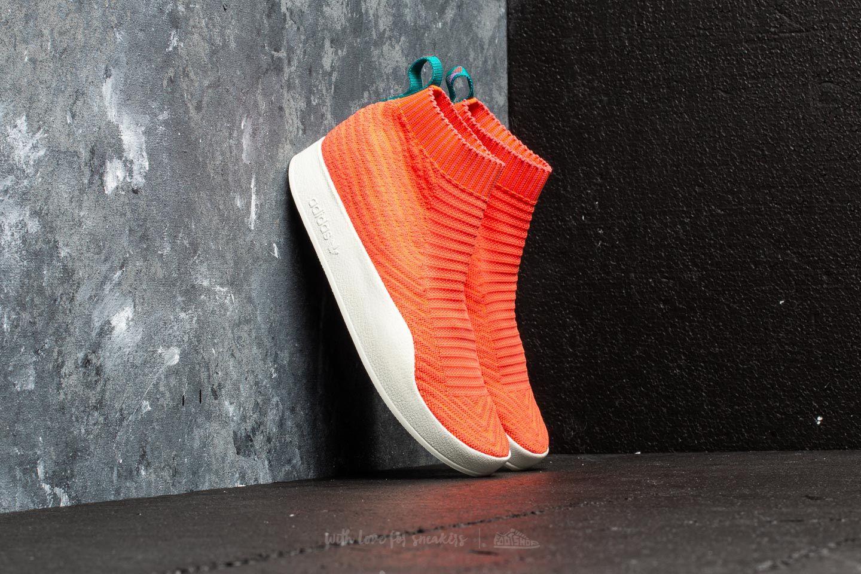 detailed look 58c0f 13fed adidas Adilette Primeknit Sock Summer. Trace Orange ...