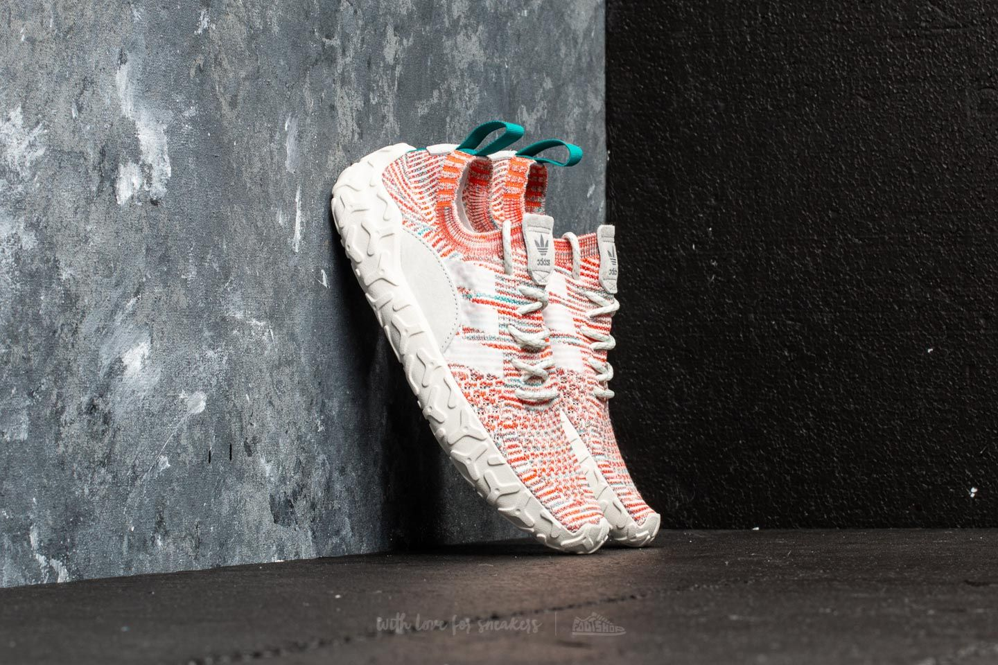 best website 15bf1 ea48b adidas F 22 Primeknit Trace Orange Crystal White Ftw White at a great