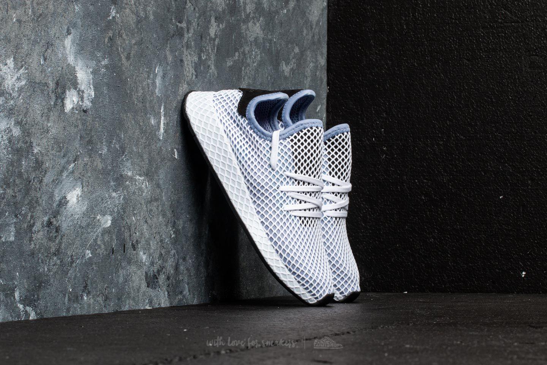 e1a03caac09aaf adidas Deerupt Runner W Chalk Blue Chalk Blue Core Black