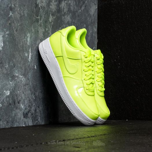 Nike Air Force 1 07 Lv8 Uv Volt Volt White White Footshop