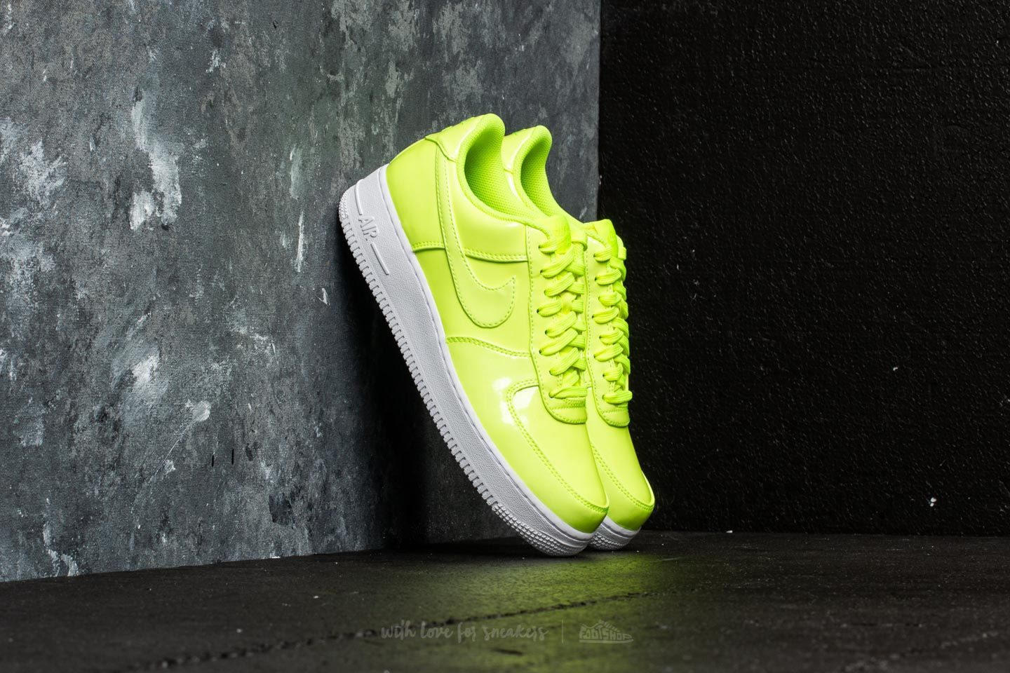 f1969c5e3be Nike Air Force 1 07 LV8 UV Volt  Volt-White-White at a