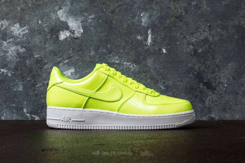 4ab5b6bb7bf Nike Air Force 1 07 LV8 UV Volt  Volt-White-White at a