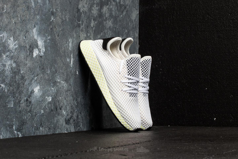 separation shoes 7e71f d3b34 adidas Deerupt Runner Chalk WhiteCore BlackCore Black