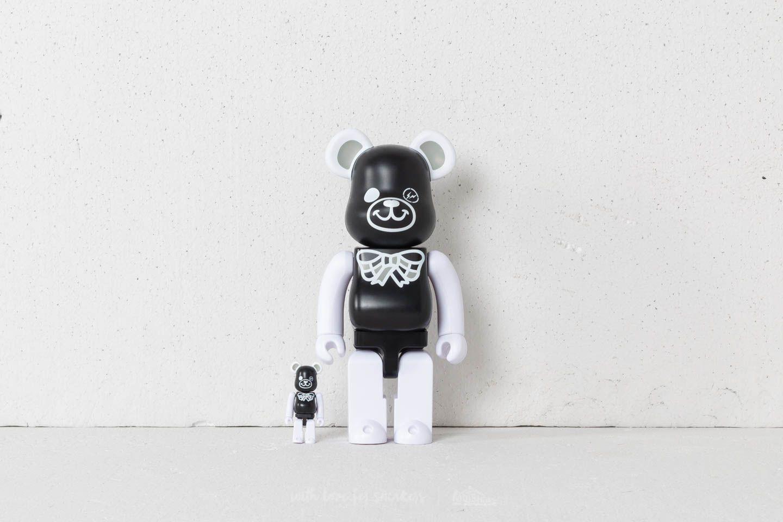 Medicom Toy Be@rBrick FREEMASONRY 100% + 400% Set Black