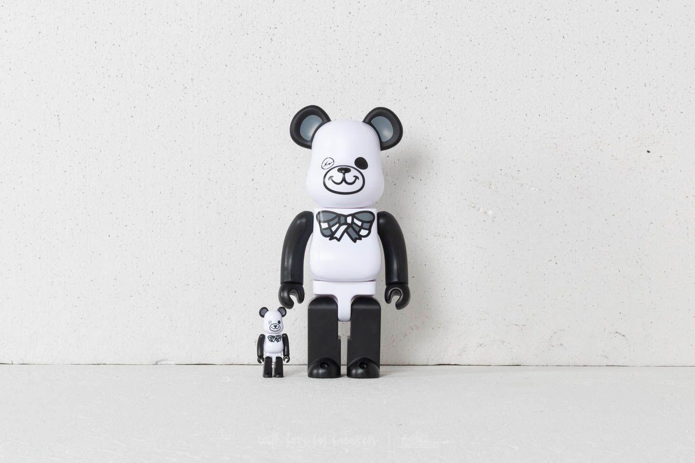 Medicom Toy Be@rBrick FREEMASONRY 100% + 400% Set White