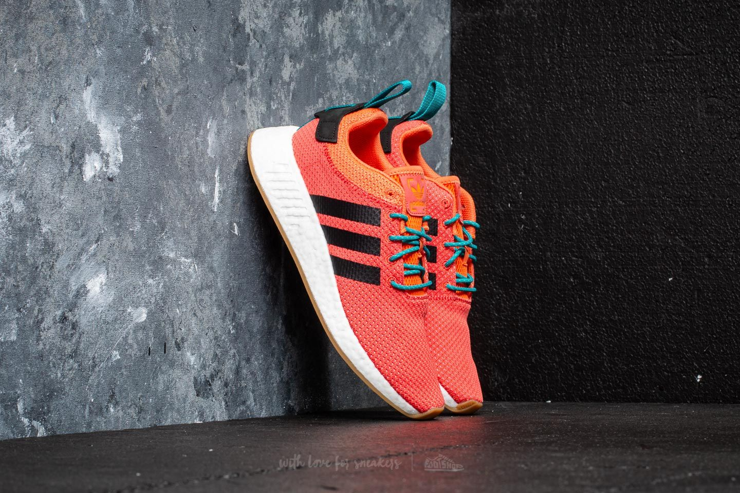 a3d545895 adidas NMD R2 Summer Trace Orange  Gum  Cloud White at a great price  121  buy