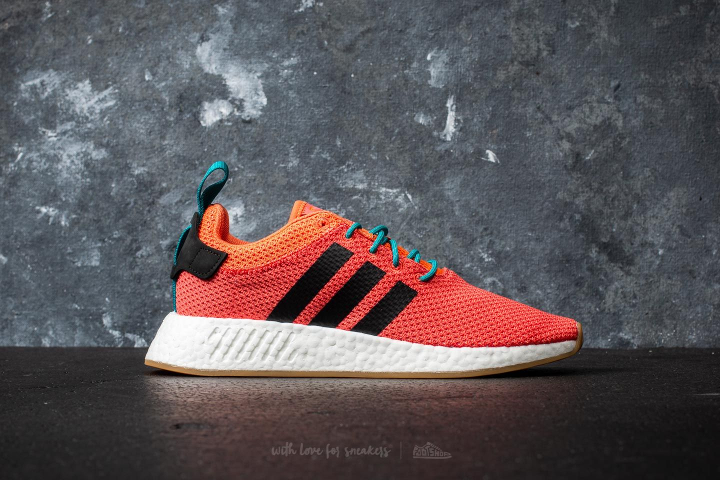 bf795efaa adidas NMD R2 Summer Trace Orange  Gum  Cloud White at a great price  121  buy