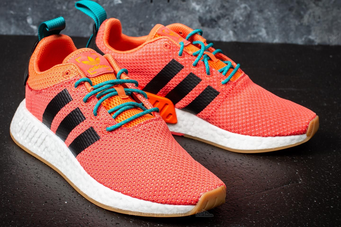 low priced 6af55 8732d adidas NMD_R2 Summer Trace Orange/ Gum/ Cloud White | Footshop