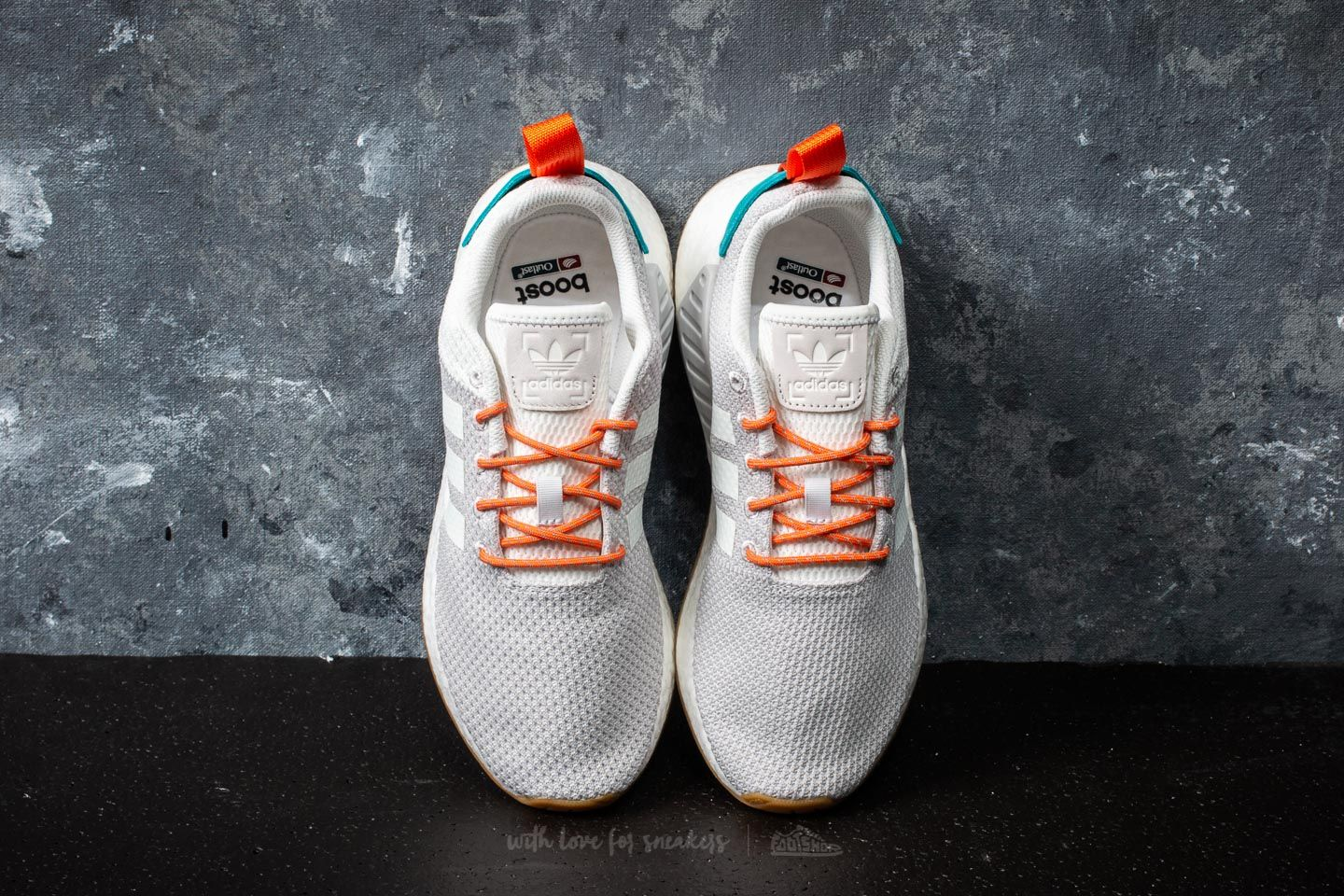 huge discount be62e 768c5 adidas NMD_R2 Summer Crystal White/ Trace Orange/ Blue ...
