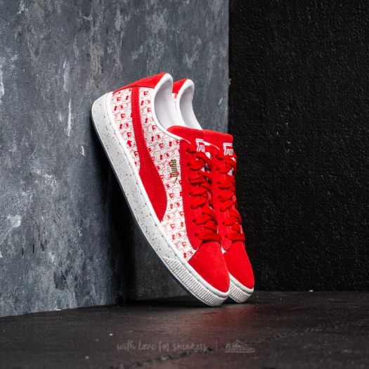 Puma Suede Classic x Hello Kitty Jr Bright Red Bright Red