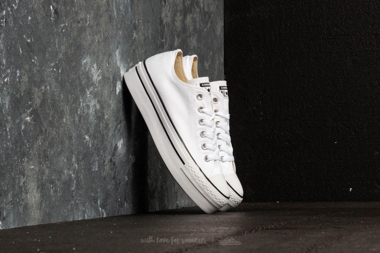 01b6e8e03c98 Converse Chuck Taylor Platform OX White