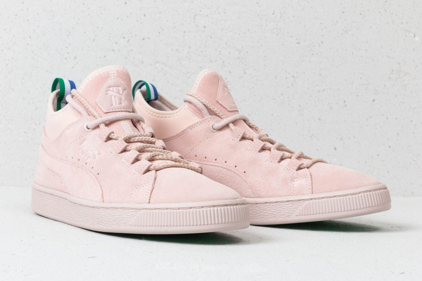 huge discount d1e66 6eee7 Puma x Big Sean Suede Mid Shell-Shell | Footshop