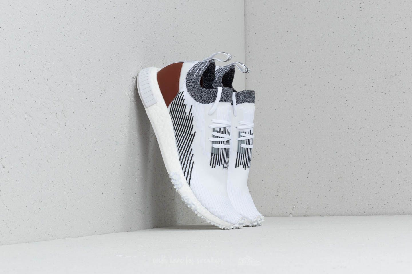 adidas NMD_Racer White/ Brown/ White at a great price $140 buy at Footshop