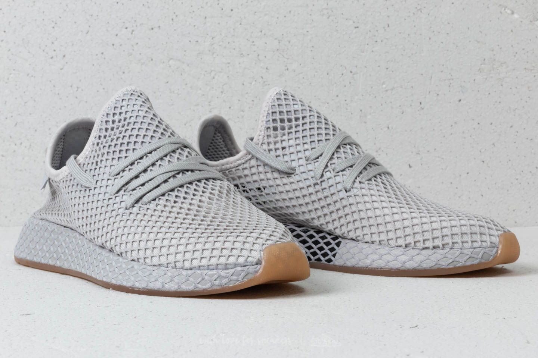 sale retailer 32969 a0e10 adidas Deerupt Runner Grey Three Lgh Solid Grey Gum 1 .